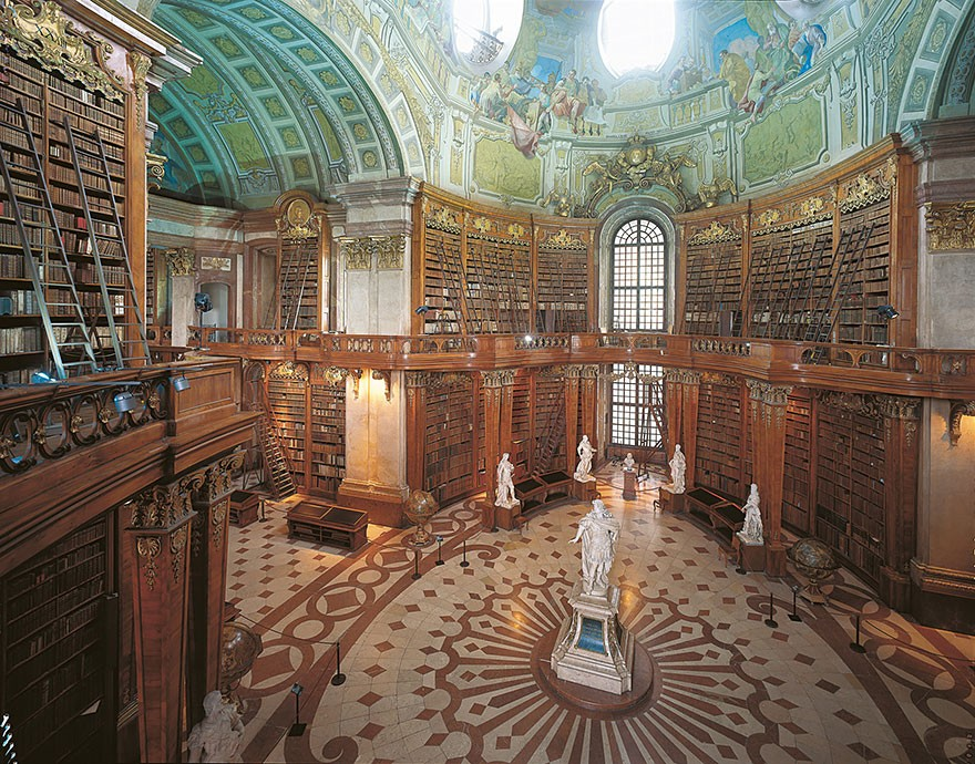 Austrian National Library, Vienna, Austria