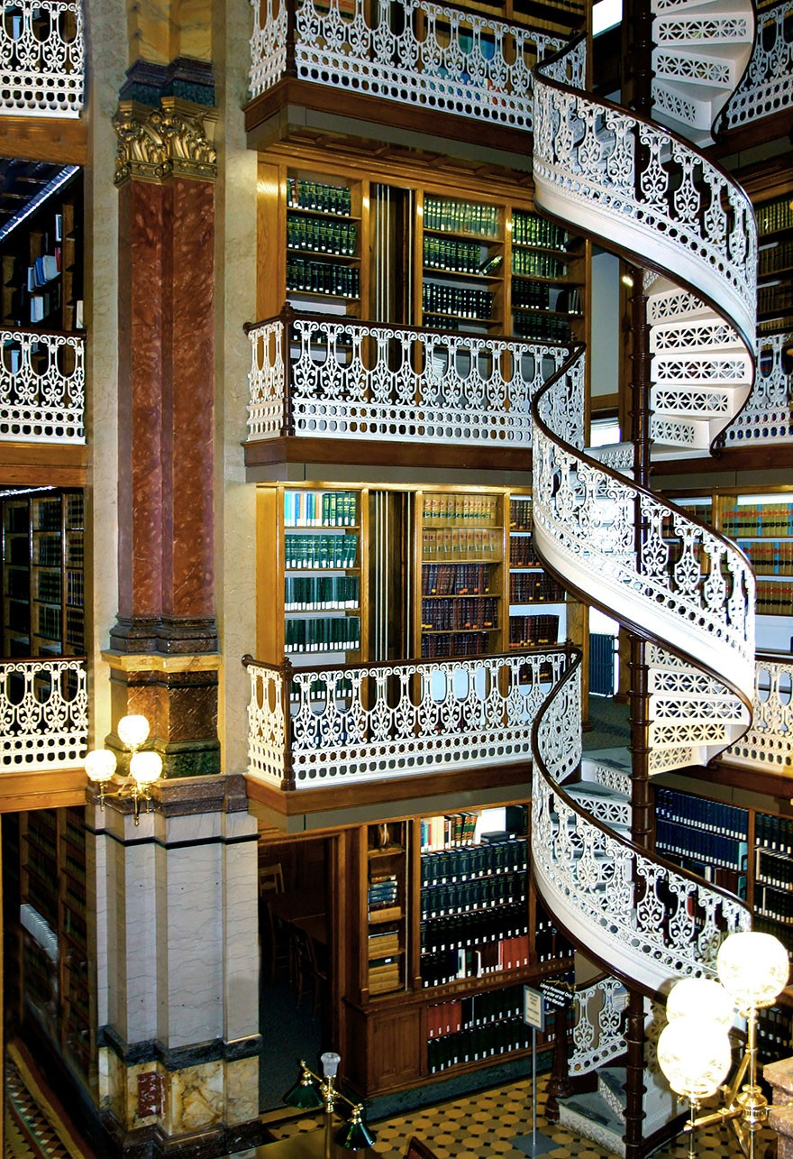 The Iowa State Law Library, Iowa, Usa