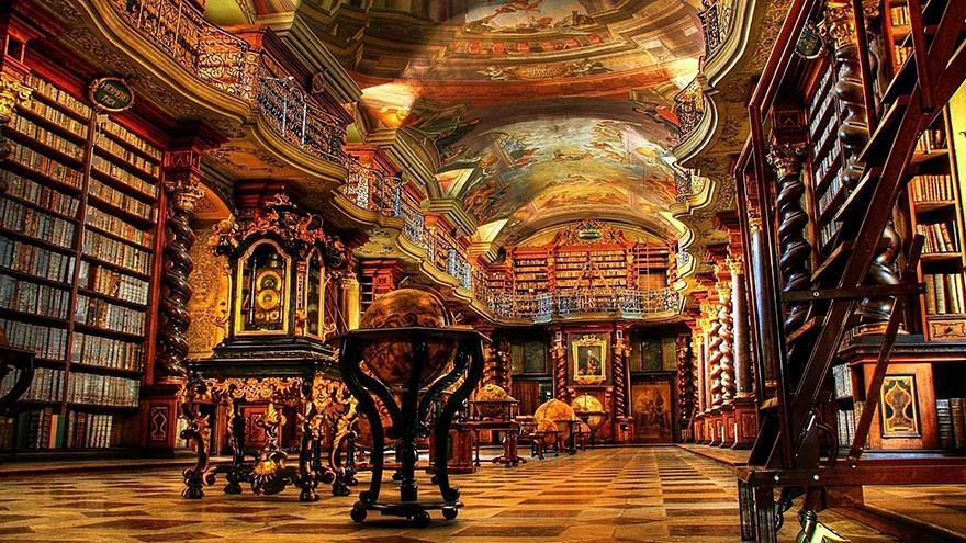 The National Library Of Prague, Prague, Czech Republic